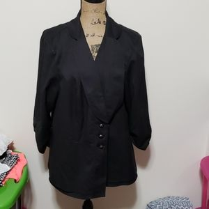 Maurices size 3 black jacket.